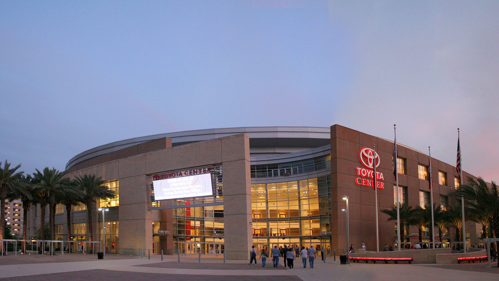 toyota center houston rockets